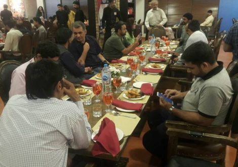 Iftar-dinner and Meeting